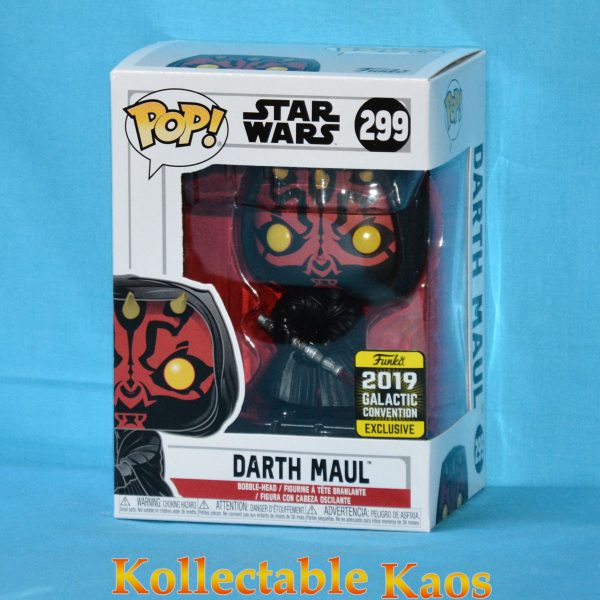 2019 GCE - Star Wars - Darth Maul Pop! Vinyl Figure
