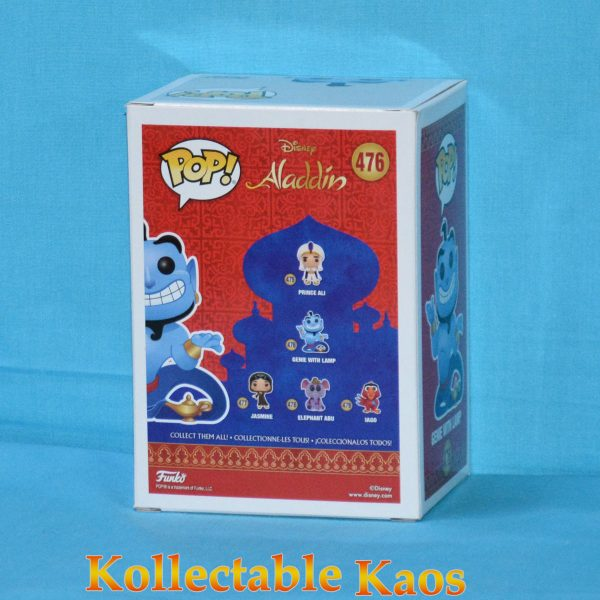 FUN38063 Aladdin S2 Genie With Lamp DGLT Pop 2 600x600 - Aladdin - Genie with Lamp Diamond Glitter Pop! Vinyl Figure (RS) #476