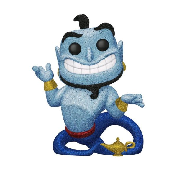 FUN38063 Aladdin S2 Genie With Lamp DGLT Pop 3 600x600 - Aladdin - Genie with Lamp Diamond Glitter Pop! Vinyl Figure (RS) #476
