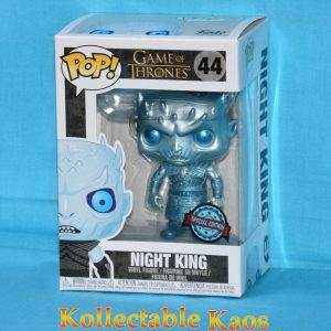 FUN40512 Game of Thrones Metallic night king 1 300x300 - Game of Thrones - Night King Metallic Pop! Vinyl Figure (RS) #44 + Protector