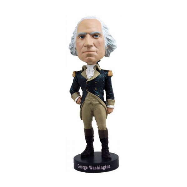 "RB01003 Bobblehead George Washington 1 600x600 - Bobblehead - George Washington 20cm(8"") Bobblehead"