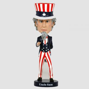 "RB01028 bobblehead uncle sam 1 300x300 - Bobblehead - Uncle Sam - 20cm(8"") Bobblehead"