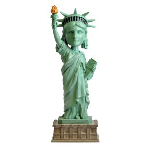 "RB01081 bobblehead statue of liberty 1 300x300 - Bobblehead - Statue of Liberty - 20cm(8"") Bobblehead"