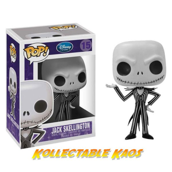FUN2468 600x600 - Nightmare Before Christmas NBX - Jack Skellington Pop! Vinyl #15