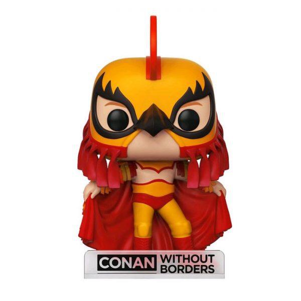 FUN34931 LuchadorConan WOB Pop 3 600x600 - Conan O'Brien - Conan as Luchador Pop! Vinyl Figure (RS) #23