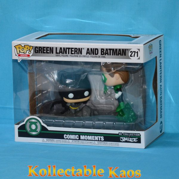 FUN36292 POP Comic Moment DC Lantern JimLee 1 600x600 - Justice League - Green Lantern and Batman Jim Lee Collection Pop! Vinyl Figure 2-Pack (RS) #269