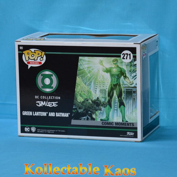 FUN36292 POP Comic Moment DC Lantern JimLee 2 600x600 - Justice League - Green Lantern and Batman Jim Lee Collection Pop! Vinyl Figure 2-Pack (RS) #269