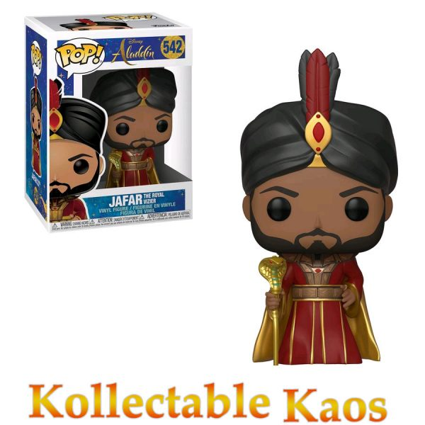 FUN37025 Aladdin Live Jafar Pop 600x600 - Aladdin (2019) - Jafar The Royal Vizier Pop! Vinyl Figure #542
