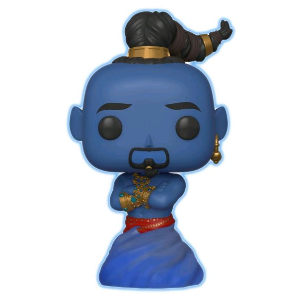 FUN37119 Aladdin Live Genie GITD Pop 3 600x600 - Aladdin (2019) - Genie Glow in the Dark Pop! Vinyl Figure (RS) #539