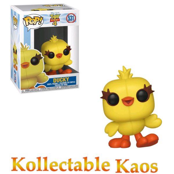 FUN37399 ToyStory4 Ducky Pop 600x600 - Toy Story 4 - Ducky Pop! Vinyl Figure #531