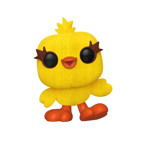 FUN37469 ToyStory4 Ducky FL Pop 3 600x600 - Toy Story 4 - Ducky Flocked Pop! Vinyl Figure (RS) #531