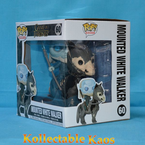 FUN37669 Gameofthrones White on Horse 3 600x600 - Game of Thrones - White Walker on Horse Pop! Rides Vinyl Figure #60