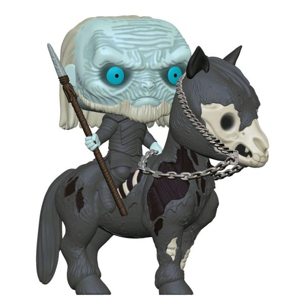 FUN37669 Gameofthrones White on Horse 4 600x600 - Game of Thrones - White Walker on Horse Pop! Rides Vinyl Figure #60