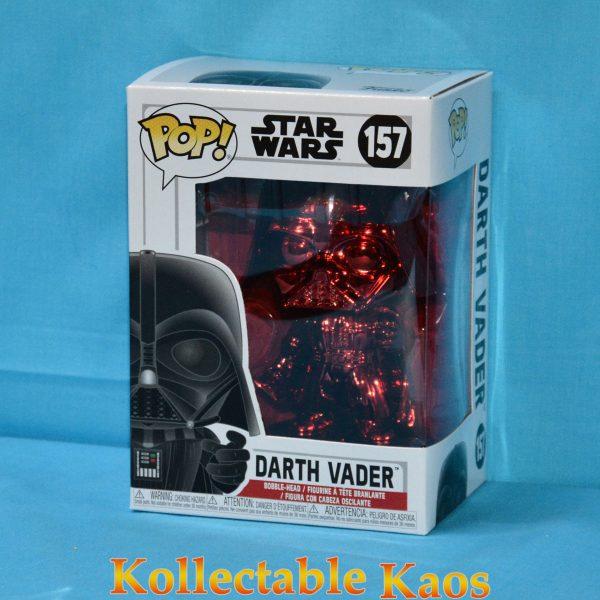 FUN38019 Star Wars Darth VaderRDCH Pop 1 600x600 - Star Wars - Darth Vader Red Chrome Pop! Vinyl Figure (RS) #157