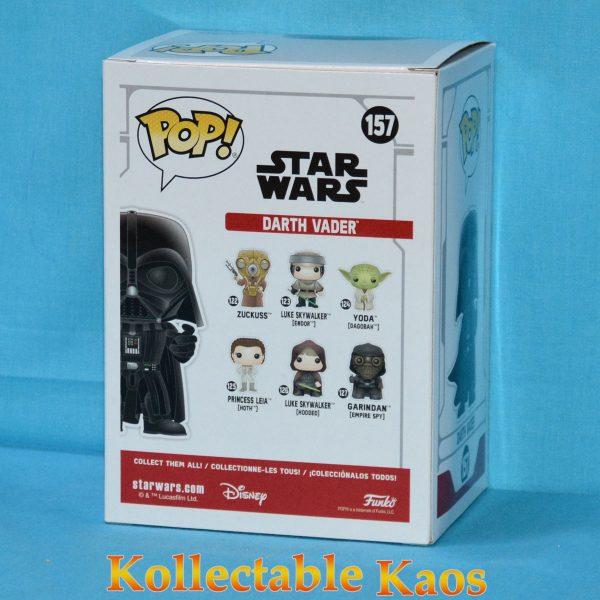 FUN38019 Star Wars Darth VaderRDCH Pop 2 600x600 - Star Wars - Darth Vader Red Chrome Pop! Vinyl Figure (RS) #157