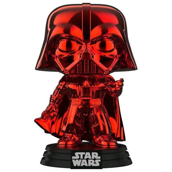 FUN38019 Star Wars Darth VaderRDCH Pop 3 600x600 - Star Wars - Darth Vader Red Chrome Pop! Vinyl Figure (RS) #157