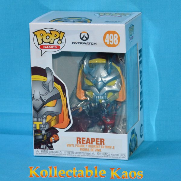 FUN38181 Overwatch Reaper Hell Fire Pop 1 600x600 - Overwatch - Reaper Hell Fire Pop! Vinyl Figure (RS) #498