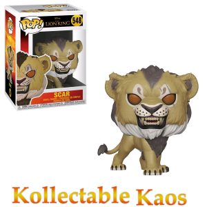FUN38546 Lion King Scar Pop 300x300 - The Lion King (2019) - Scar Pop! Vinyl Figure #548