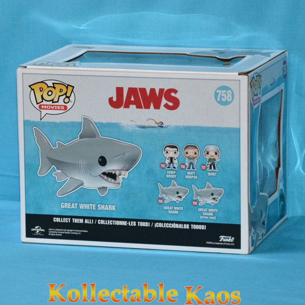 "FUN38565 Jaws 15cm Pop 2 600x600 - Jaws - Jaws 15cm(6"") Super Sized Pop! Vinyl Figure #758"