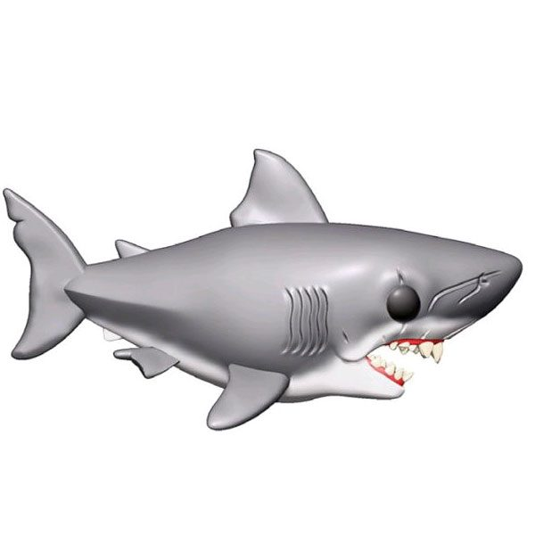 "FUN38565 Jaws 15cm Pop 3 600x600 - Jaws - Jaws 15cm(6"") Super Sized Pop! Vinyl Figure #758"