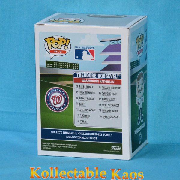 FUN38714 MLB Teddy Roosevelt Pop 2 600x600 - MLB Baseball - Theodore Roosevelt Washington Nationals Mascot Pop! Vinyl Figure #15