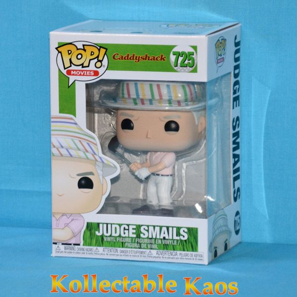 FUN38741 Caddyshack Judge Hat Pop 1 600x600 - Caddyshack - Judge Smails with Hat Pop! Vinyl Figure (RS) #725