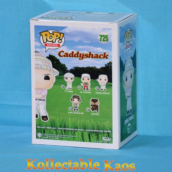 FUN38741 Caddyshack Judge Hat Pop 2 600x600 - Caddyshack - Judge Smails with Hat Pop! Vinyl Figure (RS) #725