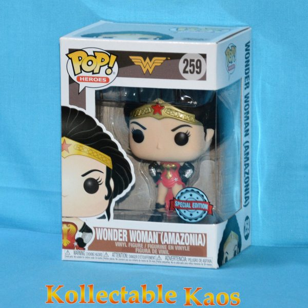 FUN38773 Wonder Woman Amazonia Pop 1 600x600 - Wonder Woman - Amazonia Wonder Woman Pop! Vinyl Figure (RS) #259