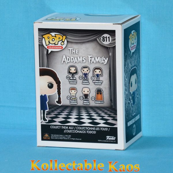 The Addams Family (1964) - Wednesday Addams Pop! Vinyl Figure