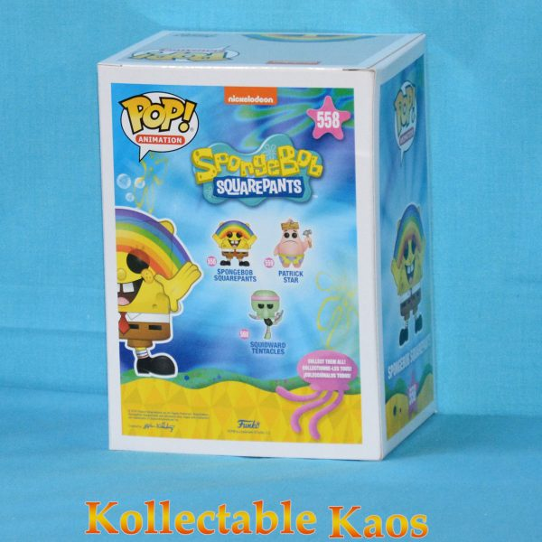 SpongeBob SquarePants - SpongeBob SquarePants with Rainbow Pop! Vinyl Figure
