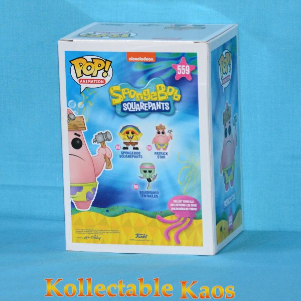 Spongebob SquarePants - Patrick with Board Pop! Vinyl Figure