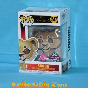 FUN39704 Lion King Simba FL Pop 1 300x300 - The Lion King (2019) - Simba Flocked Pop! Vinyl Figure (RS) #547