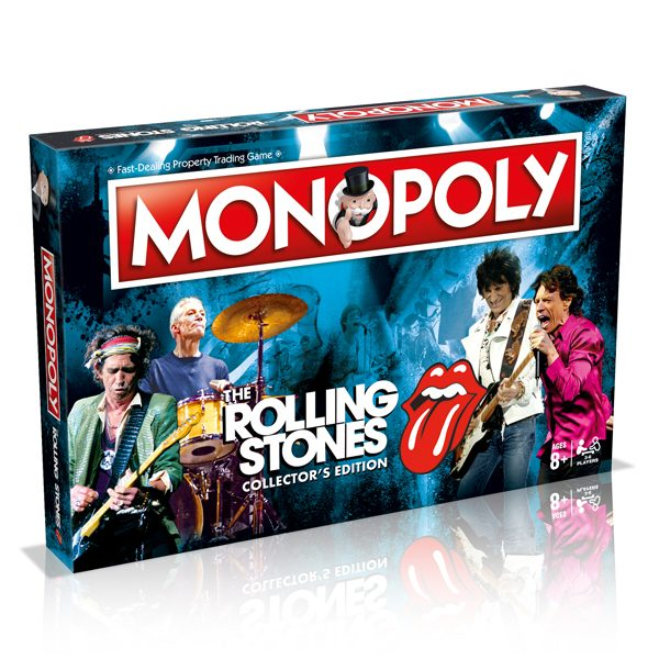 WIN032827 The Rolling Stones Monopoly 1 600x600 - Monopoly - Rolling Stones Edition