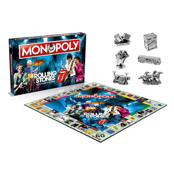 WIN032827 The Rolling Stones Monopoly 3 600x600 - Monopoly - Rolling Stones Edition