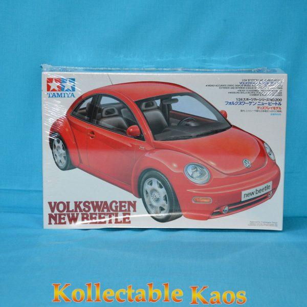 74 T24200 Volkswagen New Beetle 1 600x600 - 1:24 Tamiya - Volkswagen New Beetle Plastic Model Kit(T24200)