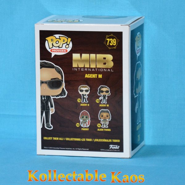 FUN38492 MIB International Agent M Pop 2 600x600 - Men In Black: International - Agent M Pop! Vinyl Figure #739