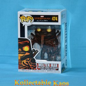 FUN39209 Marvel Spider Man Molten Man Pop 1 300x300 - Spider-Man: Far From Home - Molten Man Pop! Vinyl Figure #474