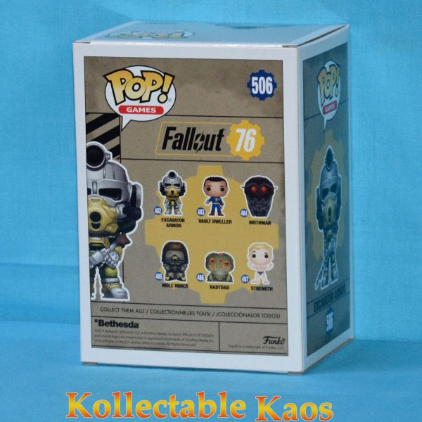 FUN39582 Fallout Excavator Pop Vinyl 2 600x600 - 2019 E3 Convention Exclusive - Fallout 76 - Excavator Armor Pop! Vinyl Figure (RS) #506