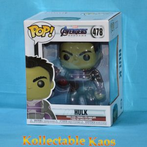 "FUN39743 Endgame Hulk Pop 1 300x300 - Avengers 4: Endgame - Hulk with Nano Gauntlet 15cm(6"") Pop! Vinyl Figure #478"