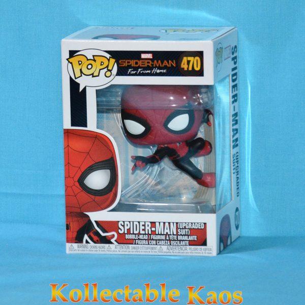 FUN39898 spiderman upgraded suit 1 600x600 - Spider-Man: Far From Home - Spider-Man Wall Crawl Pop! Vinyl Figure #470