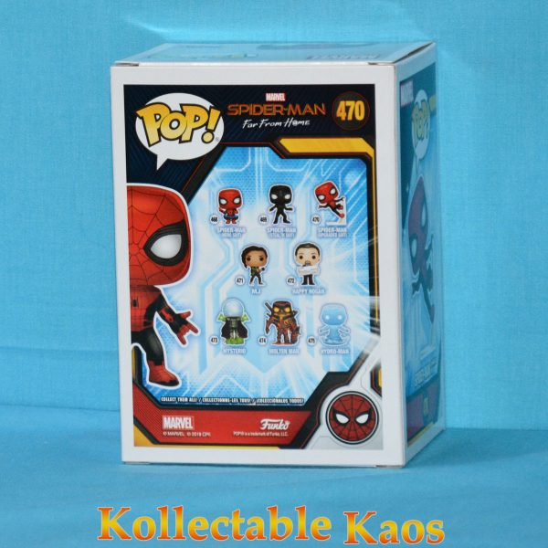 FUN39898 spiderman upgraded suit 2 600x600 - Spider-Man: Far From Home - Spider-Man Wall Crawl Pop! Vinyl Figure #470