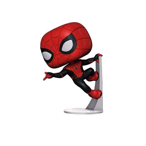FUN39898 spiderman upgraded suit 3 - Spider-Man: Far From Home - Spider-Man Wall Crawl Pop! Vinyl Figure #470