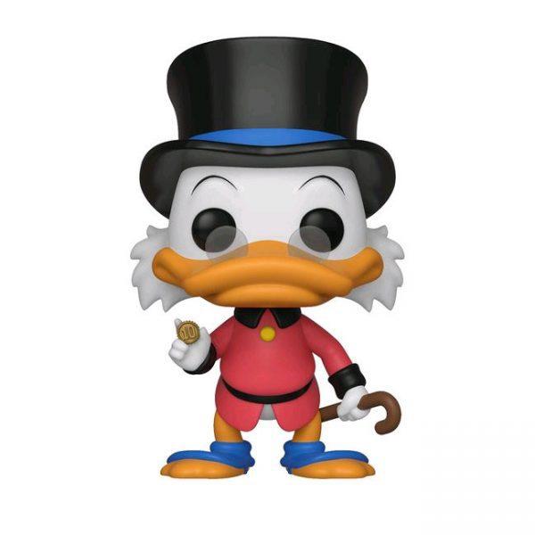 FUN40812 Ducktales Scrooge Pop 3 600x600 - DuckTales - Scrooge McDuck in Red Coat Pop! Vinyl Figure #555 + protector