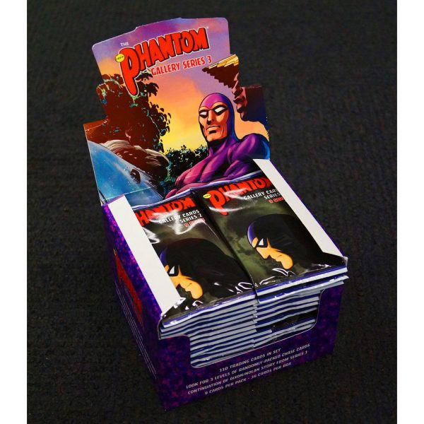The Phantom Gallery - Series 2 - Trading Cards Box