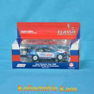 1:43 Classics - 2008 Sprint Gas Racing VE Commodore - Jason Richards