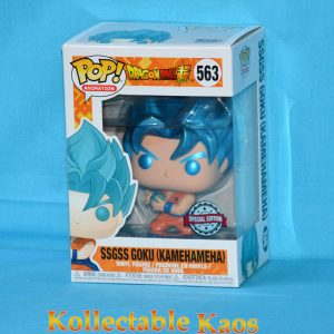 Dragon Ball Super - SSGSS Goku Kamehameha Metallic Pop
