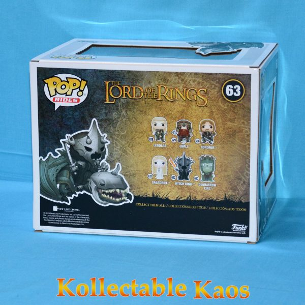 The Lord Of The Rings - Witch King on Fellbeast Pop