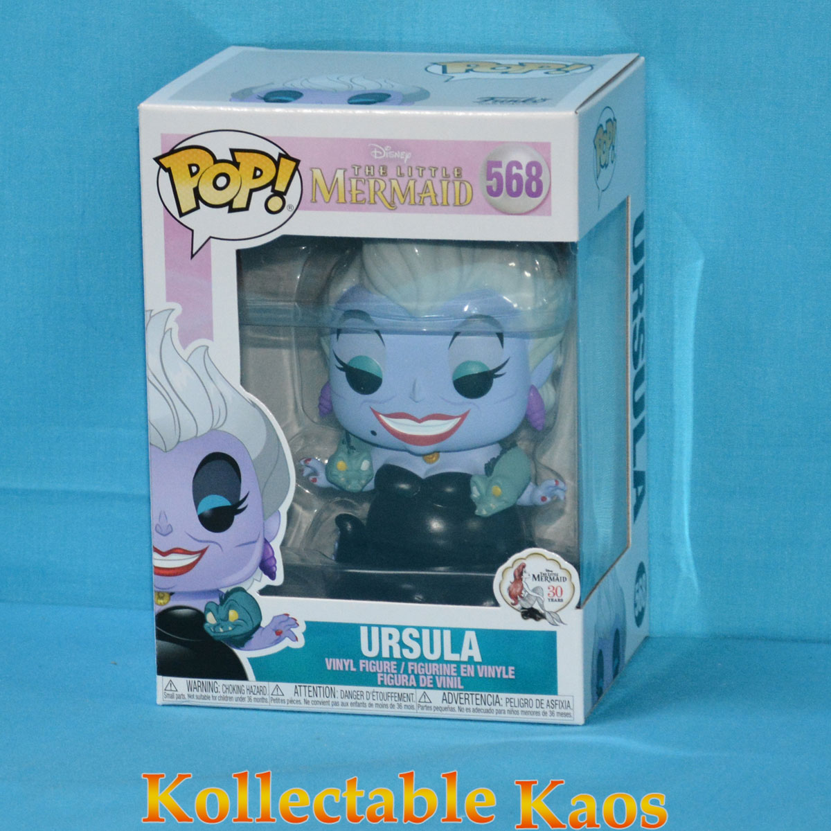 Ursula with Eels Disney Little Mermaid Funko Pop