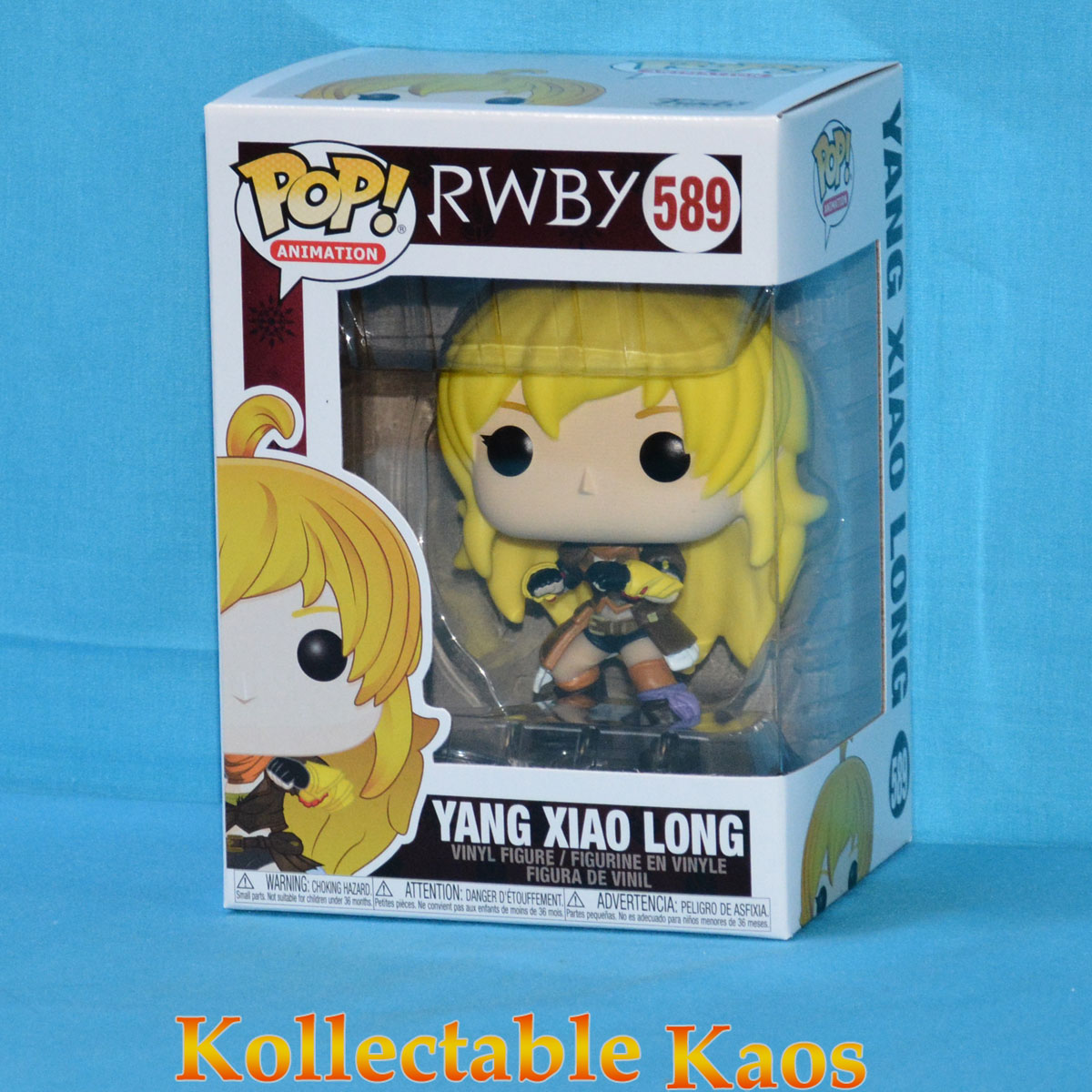 RWBY - Yang Xiao Long Pop! Vinyl Figure #589