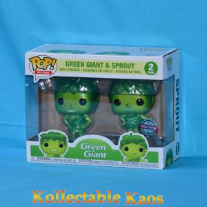 B&G Foods - Jolly Green Giant & Little Green Sprout Metallic Pop